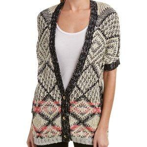 "CABI short sleeve ""Provence"" sweater"